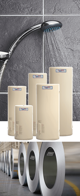 AquaMAX Hot Water Systems - Sunpak Hot Water Systems - Stainless Steel