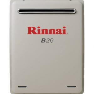Rinnai Builder Series Continuous Flow Hot Water Heater Fast installation sunshine coast