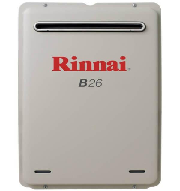 Rinnai Builder Series Continuous Flow Hot Water Heater Fast installation sunshine coast