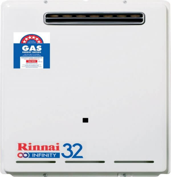 Rinnai Infinity Continuous Flow Hot Water System Installation Sunshine Coast
