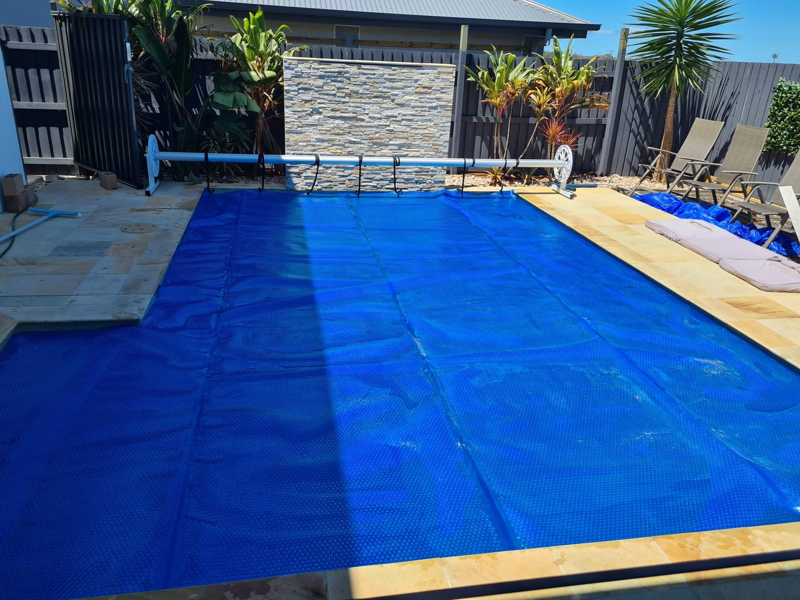 Pool with Blanket
